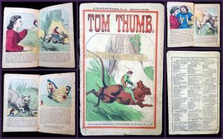 Tom Thumb-Cinderella Series. McLoughin.New York.c1866