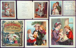 Home Kindness; A Picture Gift Book for the Children. McLoughlin Bros..New York.c1870