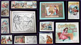 Advertising Coloring Books of the 19th and 20th Centuries. .United States.1888-1932
