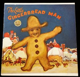 "Charles J. Coll - Illustrator Royal Baking Powder Company's ""The Little Gingerbread Man"". Royal Baking Powder.1923.New York"