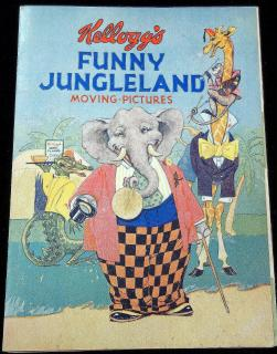 Kellogg's Funny Jungleland: Moving Pictures . Kellogg Company.Battle Creek, Mich..1932