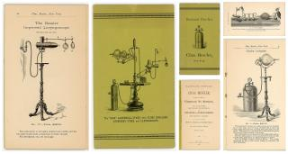 Illustrated Price List, Chas. Beseler, Manufacturer of Compress Air Atomizer, Air and Gas Pumps, Globe Inhalers, Gas Receives, &c.. Chas. Beseler.New York, NY.1888