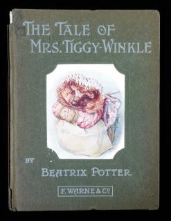 Beatrix Potter The Tale of Mrs. Tiggy Winkle . Frederick Warne & Co.New York.1905