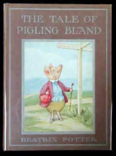 Beatrix Potter The Tale of Pigling Bland. Frederick Warne & Co.New York.1913