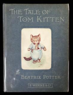Beatrix Potter The Tale of Tom Kitten - Blue . Frederick Warne & Co.New York.1907