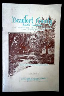 N.L Willet  Beaufort County, South Carolina: The Shrines, Early History, and Topography . Phoenix Printing Company.Augusta, GA.1929