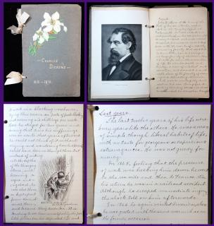 An Essay on the life of Charles Dickens by Nellie M Krehbiel c 1900. ..