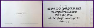 The Colliery Engineer Company German Text (335) : Lettering Course. The International Correspondence Schools.Scranton PA.1899