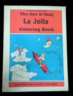 The One & Only La Jolla Coloring Book