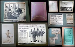 Scrap Book Album of Russell Roosen, Bridge Player from Detroit, Michigan, 1927-1945. Educational Press, Inc.New York.1950
