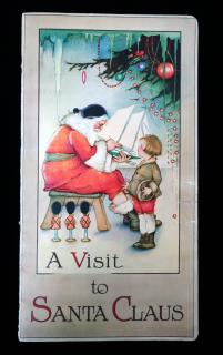 A Visit to Santa Claus. Stecher Litho. Co.Rochester, NY.1919