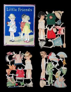 Boxed Set - Little Friends. Socolu, (S C) No. 407.Germany. c1930s