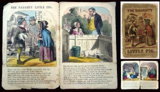The Naught Little Pig. Goody Goodchild's Series. Dean & Son.London.c1860