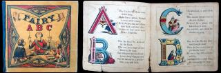 Fairy ABC. Sheldon & Company.New York.c1863