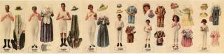 The Munsingwear Family Cut-outs. Munsingwear.Minneapolis, MN.c1917