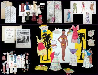 Barbara Plummer & Barbara Barnett A Collection of 28 Paper Doll Sets by the Jones Sisters. 1987-2011