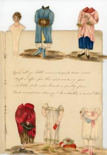 Anon. Manuscript Adaptation of The History of Little Fanny . ..c1810s