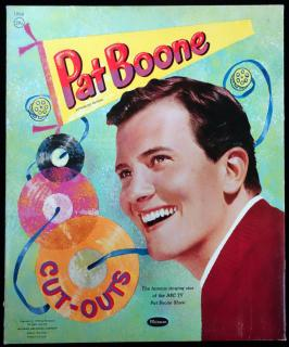 Pat Boone, a Paper Doll Folio. Whitman Publishing Company.Racine, WI.1959