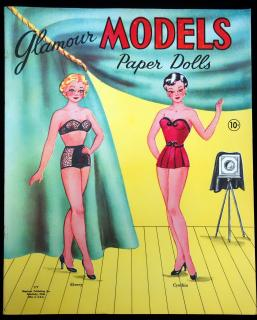 Glamour Models, Paper Dolls No. 177. Stephens Publishing Co.Sandusky, OH.