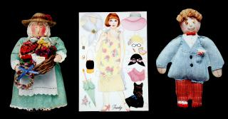 Hallmark Dolls, 1990, A Collection of Ten (10) Remakes of Historical Dolls. Hallmark..1990