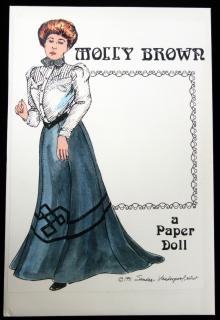Sandra Vanderpool Molly Brown, A Paper Doll. ..1991