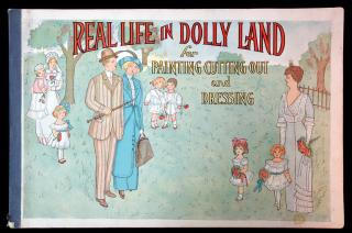 Real Life in Dolly Land, for Cutting Out and Dressing. Stanton and Van Vliet Company.Chicago, IL.1913