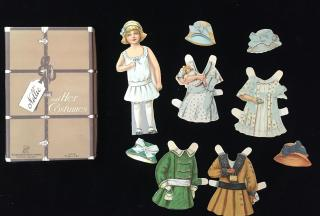 Boxed Set - Nellie and Her Costumes. Saml Gabriel Sons & Co. No. D-95.New York.c1920