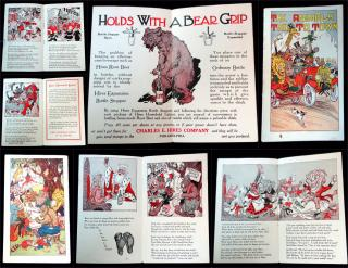 The Animals Trip To Town, Advertising Booklet. Charles E. Hires Company.Philadelphia, PA.c1915