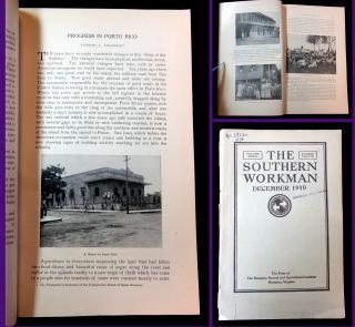 The Southern Workman, Vol 39, No. 12. The Hampton Normal and Agricultural Institute.Hampton, VA.3988