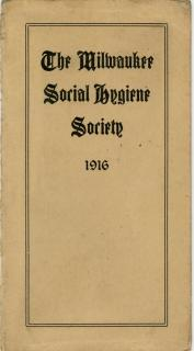 The Milwaukee Social Hygiene Society