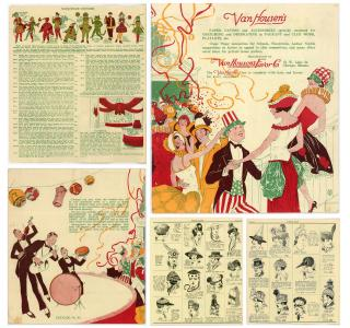 Van Housen's, Paper Favors and Accessories Specially Designed for Costuming and Decorating in a Pageant and Club work, Playlets, etc., A Trade Catalogue, No. 81. Van Housen.Chicago, IL.1920