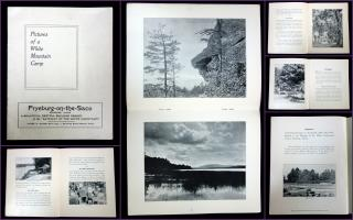 Recreation Department Pictures of a White Mountain Camp, A Summer Resort Brochure. The Outlook Company.New York, NY.[1910]