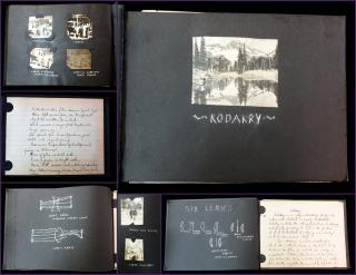 Kodakery, Manuscript on Photography with Photos and Drawings. ..c1920