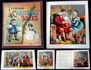 Three Christmas Boxes. McLoughlin Brothers.New York.1882(2)