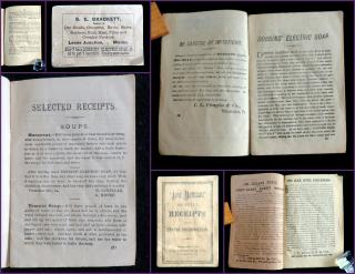 Aunt Matilda's Selected Receipts and Useful Information. I. L. Cragin & Co. .Philadelphia, PA.[1890]