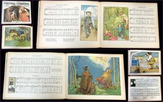 Bernhard Scholz Kindersang - Heimatklang, Deutsche Kinderlieder: German Children and Folk Songs, Volumes 3-4. .Germany.[1906]