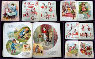 Apple Pie, An A B C Book. McLoughlin Brothers.New York.1891