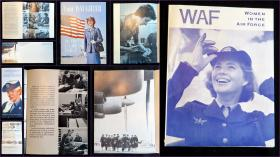 US Air Force Recruiting Service A Trio of Items Relating to WAF: Women in the Air Force. .Quincy, IL.1963-1965