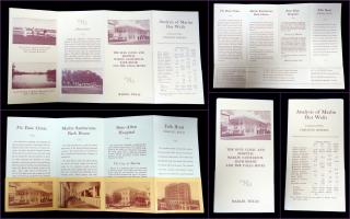 Buie Clinic and Hospital, Marlin Sanitarium Bath House The Buie Clinic and Hospital, Marlin Sanitarium Bath House and the Falls Hotel Brochure. .Marlin, TX.[1920]