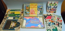 "Unpunched Boxed Set - Puppet Parade - ""The most Fascinating and Beautiful Toy in Existence"",  Reed Toy 1943"
