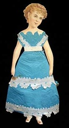 McLoughlin Bertha Blond 1875 Paper Doll