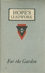 Catalog: Leadwork for the Garden, May 1932