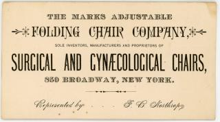 Advertising Trade Card