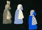 Grandmother Handmade Paper Doll