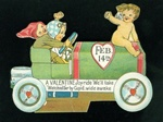 Cupids Taking A Valentine Joy-Ride