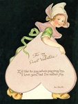 Nister - Duch Girl with Valentine Message
