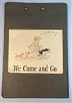 We Come and Go – Informal Test for Third Pre-Primer (Scott, Foresman Co.) Dick, Sally and Baby c1950