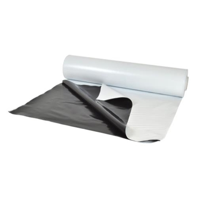 Panda Black & White Poly Film 10 ft x 25 ft Roll