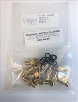 Compressor fitting kit with o-ring (10 pack)