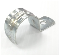 "1-1/2"" One-Hole Steel Bracket"